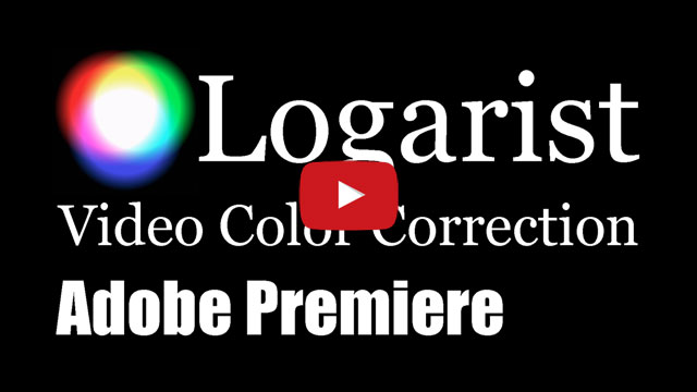 YouTube: Logarist in Premiere Pro and Premiere Elements